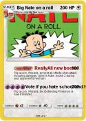 Big Nate on a