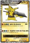 Pikachu alfa