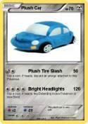 Plush Car