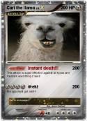 Carl the llama