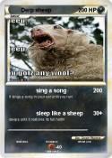 Derp sheep