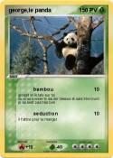 george,le panda