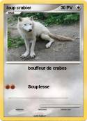 loup crabier