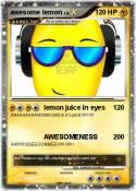 awesome lemon