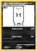 really angry