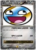 EPIC CAMO FACE