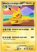 pikachu a la