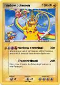 rainbow pokemon