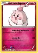 evil bubblegum