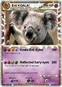 Evil KOALA!
