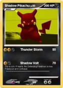 Shadow Pikachu