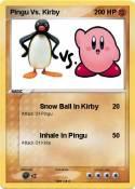 Pingu Vs. Kirby