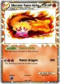 Monster flame