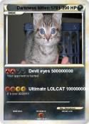 Darkness kitten