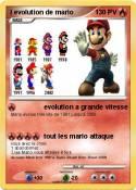 l evolution de