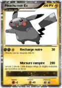 Pikachu noir Ex