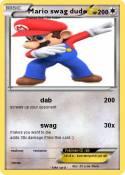 Mario swag dude