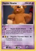 Psychic Pikachu