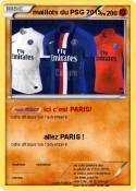 maillots du PSG