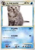 le chat mortel