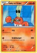 baby mr krabs