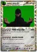 metal ninja EX