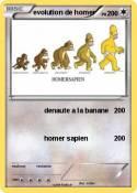 evolution de