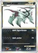 dark arceus