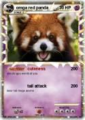omga red panda