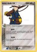 army dude GX 0