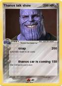 Thanos talk