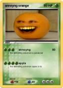 annoyng orange