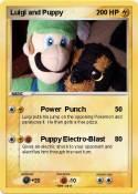 Luigi and Puppy
