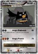 Angry Batbird