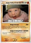 angry baby at