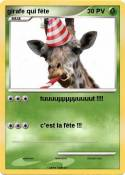 girafe qui