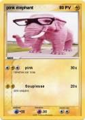 pink éléphant
