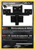 Wither mutante