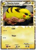 Pikachu bunny