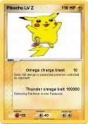Pikachu LV Z