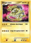 Dragon doré