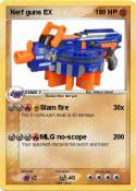 Nerf guns EX