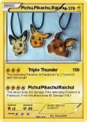 Pichu,Pikachu,Raichu
