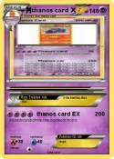 thanos card X