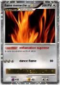 flame memeche