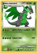 green charizard