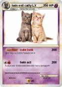 twin evil catty