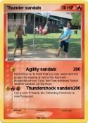 Thunder sandals