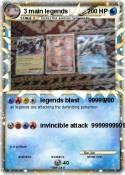 3 main legends