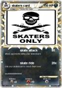 skaters card